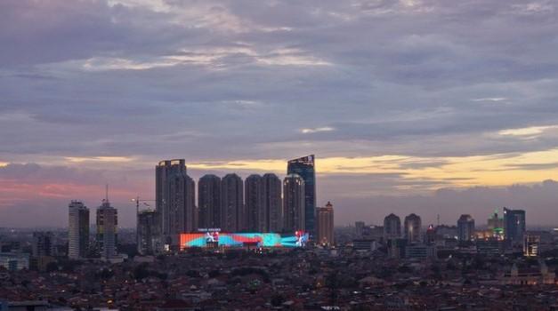Centres commerciaux équipés d'écran géant