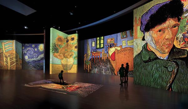 Van Gogh Alive: peintures revisitées